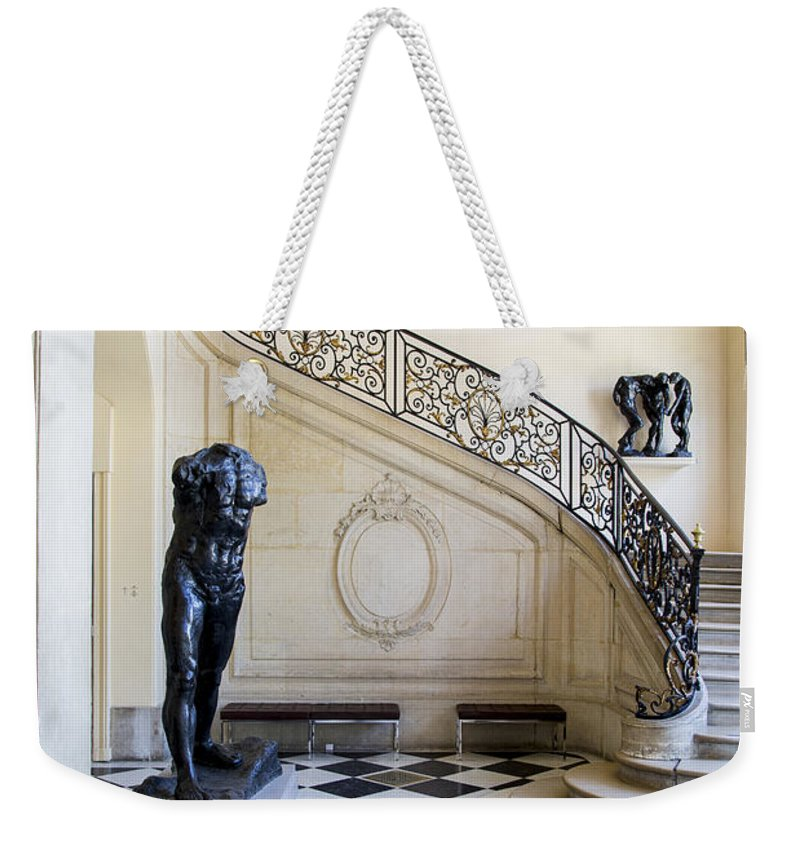 Architecture Weekender Tote Bag featuring the photograph Rodin Museum by Brian Jannsen