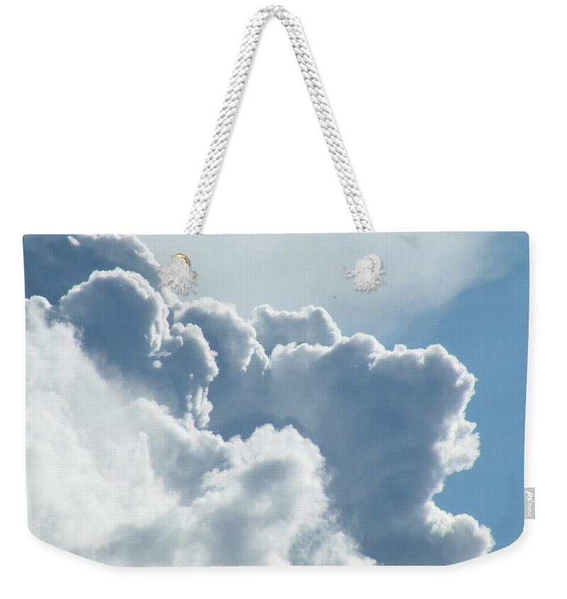 Dramatic Weekender Tote Bag featuring the photograph Roiling by Brian Boyle