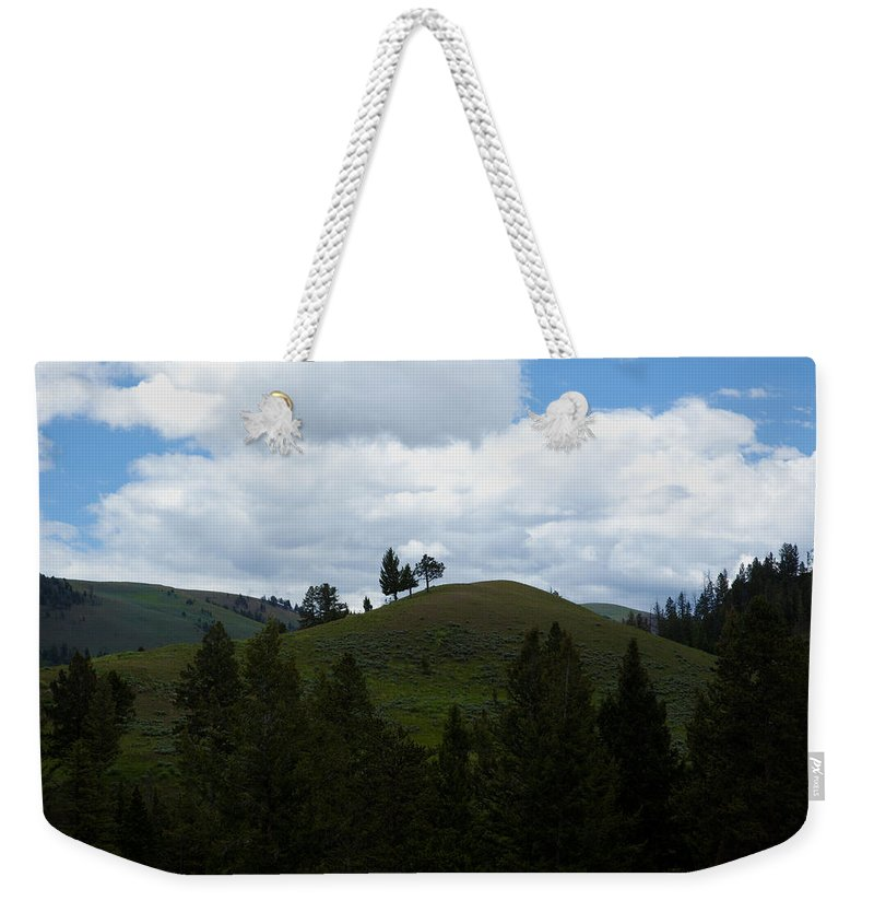 Hills Weekender Tote Bag featuring the photograph Rolling Hills by Scott Sanders