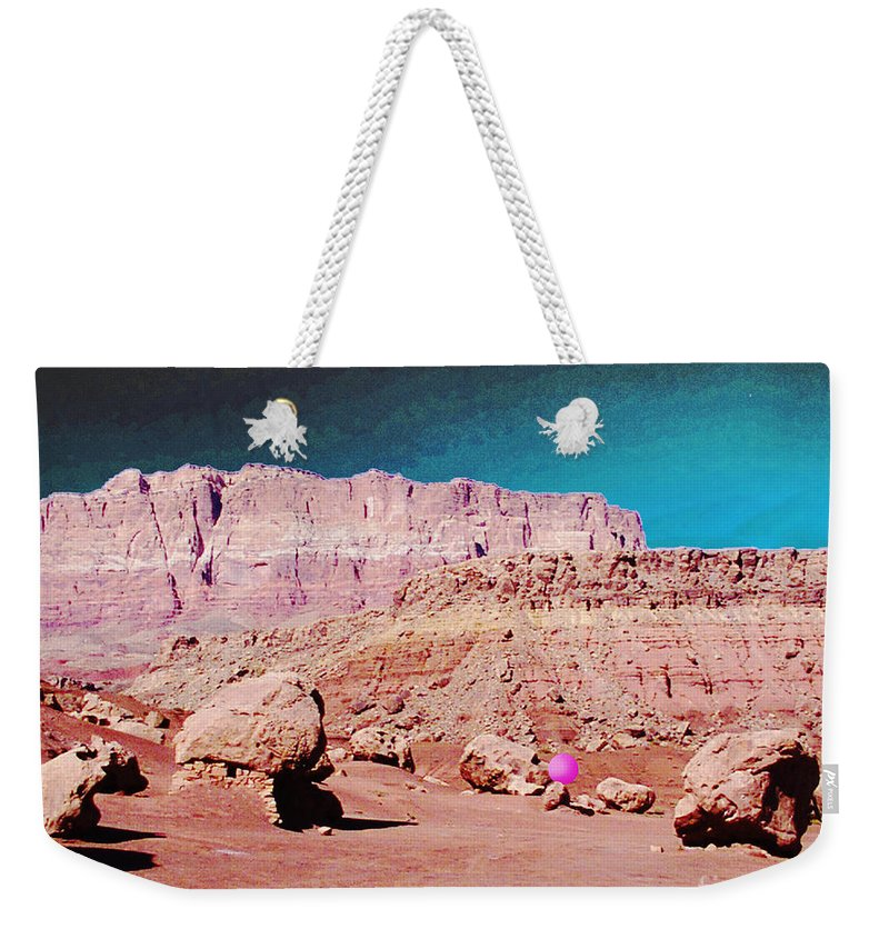 Digital Weekender Tote Bag featuring the photograph Rolling Rockin' Roger by Lizi Beard-Ward
