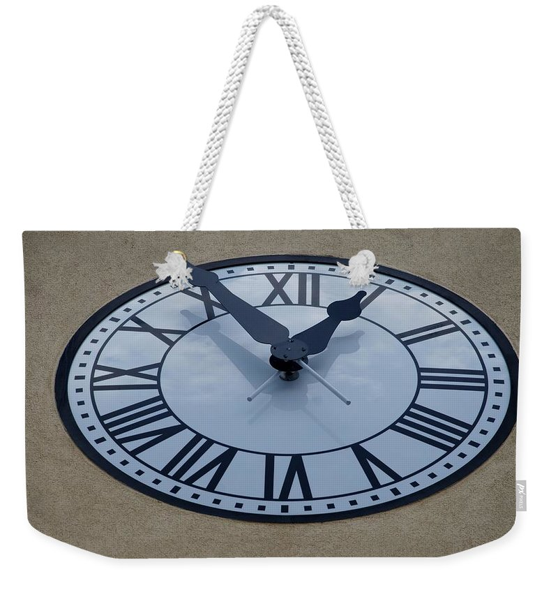 Sculptures Weekender Tote Bag featuring the photograph Roman Time by Rob Hans