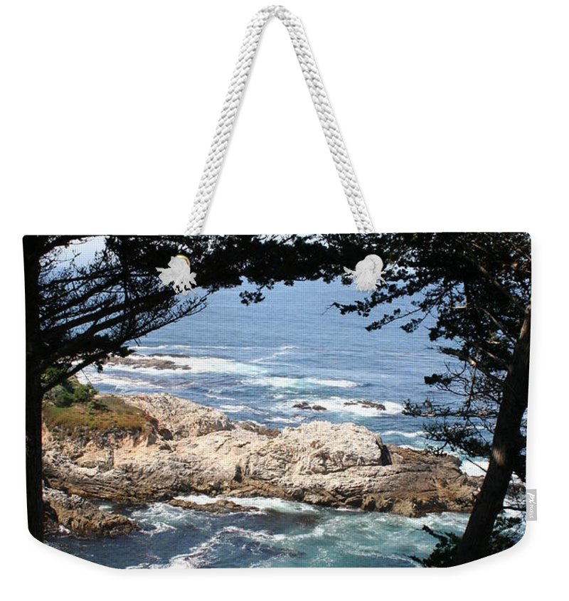 Coast Weekender Tote Bag featuring the photograph Romantic California Coast by Christiane Schulze Art And Photography