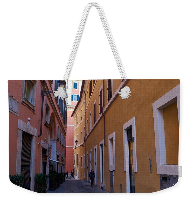 Lehto Weekender Tote Bag featuring the photograph Rome 2013 by Jouko Lehto