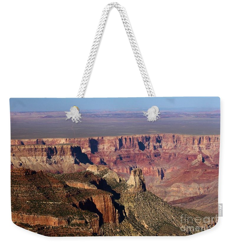 Roosevelt Point Weekender Tote Bag featuring the photograph Roosevelt Point Landscape by Adam Jewell