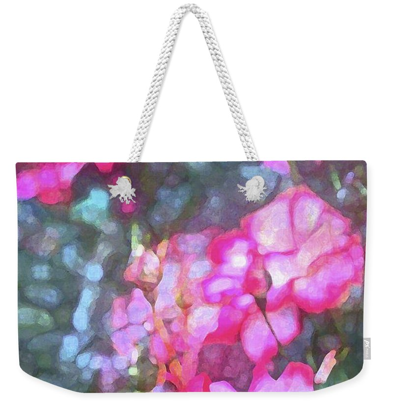 Floral Weekender Tote Bag featuring the photograph Rose 188 by Pamela Cooper