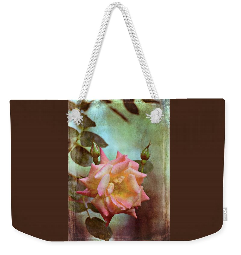 Floral Weekender Tote Bag featuring the photograph Rose 263 by Pamela Cooper