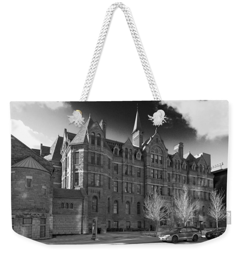 Buildings Weekender Tote Bag featuring the photograph Royal Conservatory Of Music by Guy Whiteley