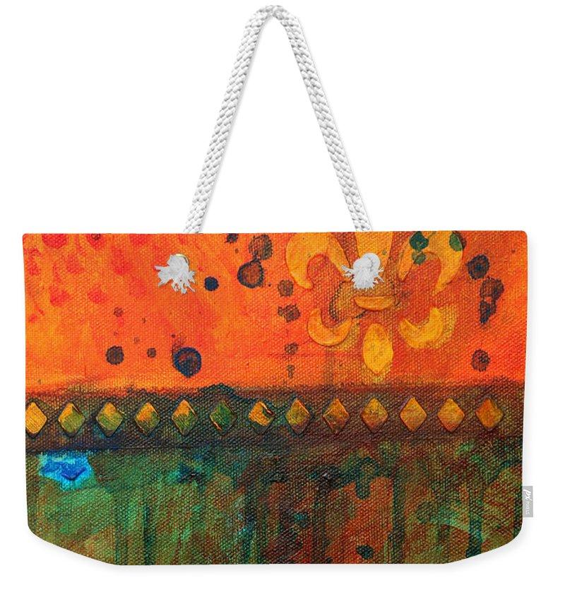 Fleurdelis Weekender Tote Bags
