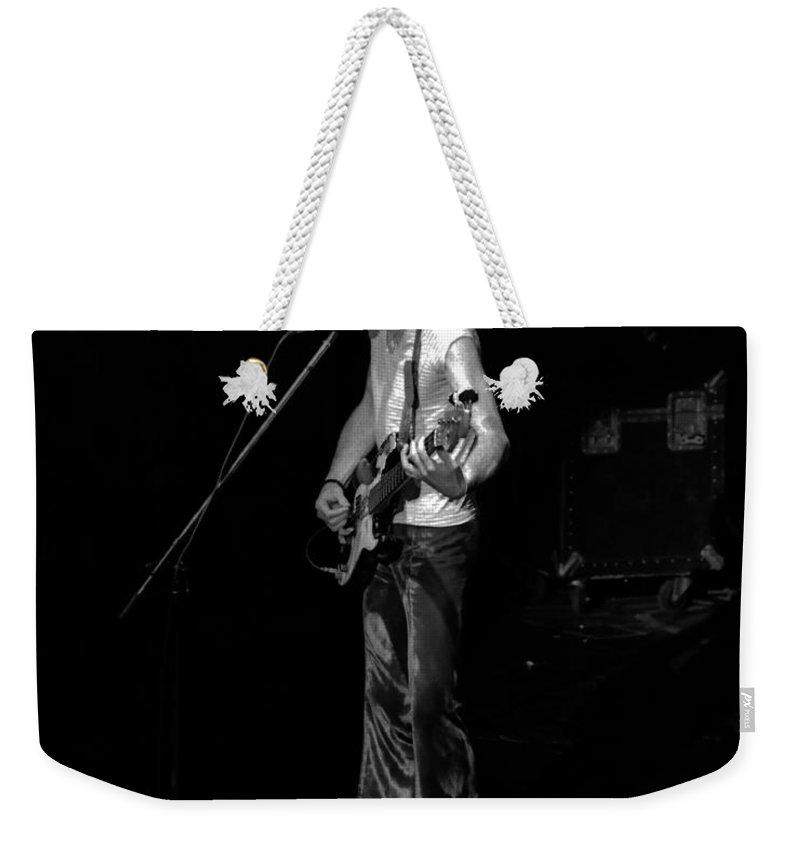 James Dewar Weekender Tote Bag featuring the photograph Rt #12 Crop 2 by Ben Upham