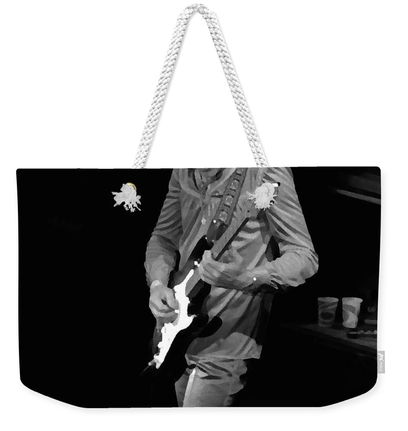 Robin Trower Weekender Tote Bag featuring the photograph Rt #17 Crop 2 Enhanced by Ben Upham