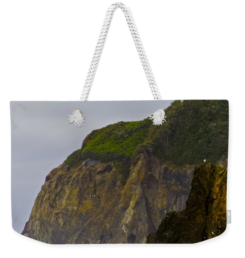 Ruby Beach Surf Weekender Tote Bag featuring the photograph Ruby Beach Surf II by Greg Reed