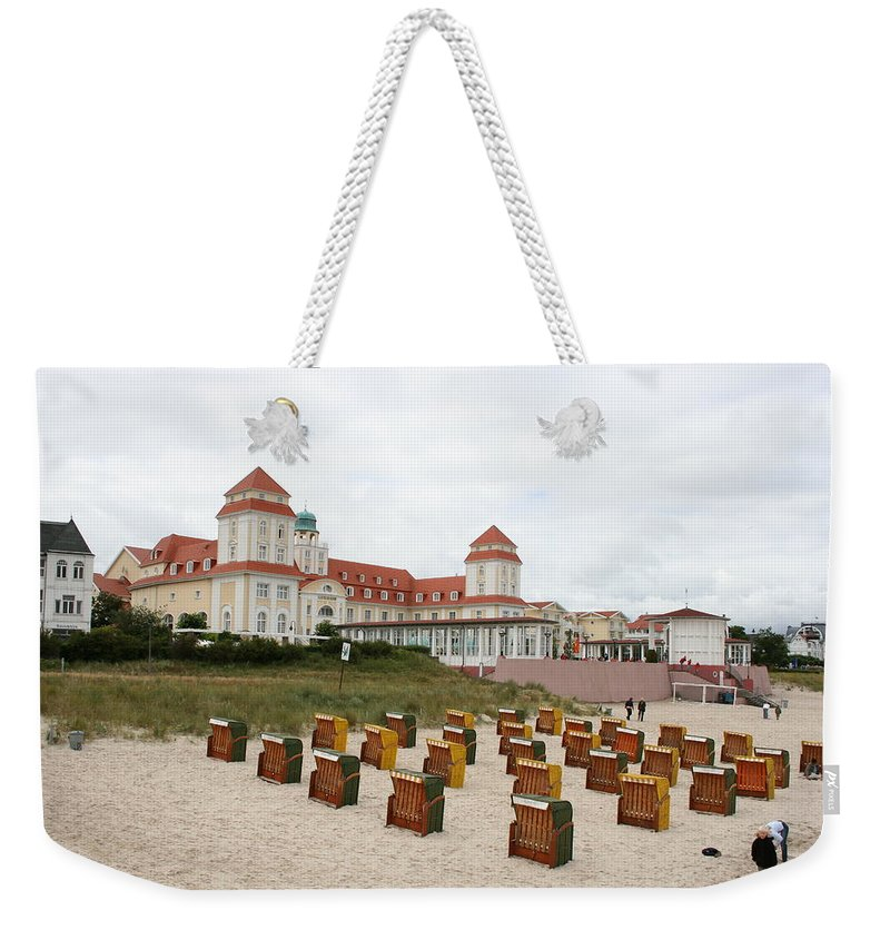 Beach Weekender Tote Bag featuring the photograph Ruegen Island Beach - Germany by Christiane Schulze Art And Photography