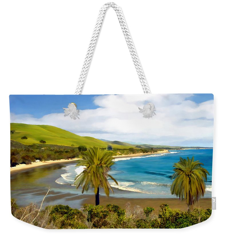 Ocean Weekender Tote Bag featuring the photograph Rufugio by Kurt Van Wagner