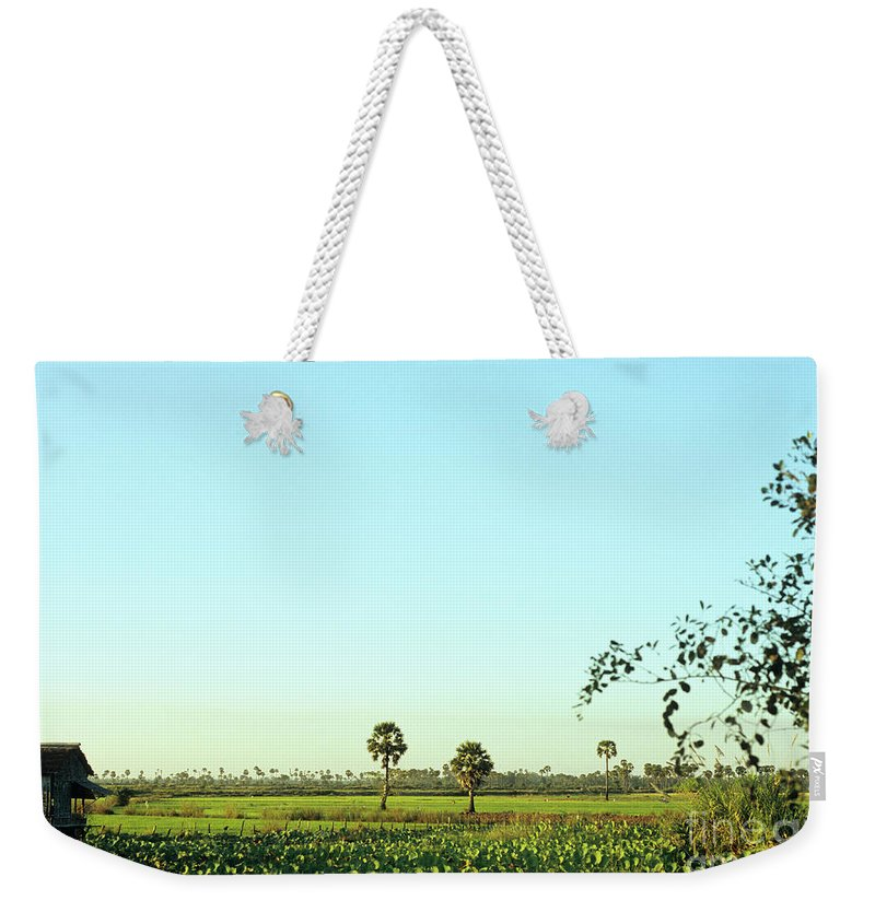 Cambodia Weekender Tote Bag featuring the photograph Rural Cambodia by Rick Piper Photography