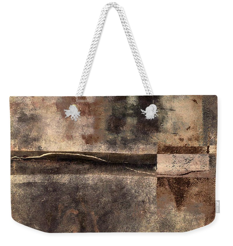Rust Weekender Tote Bag featuring the photograph Rust And Walls No. 2 by Carol Leigh