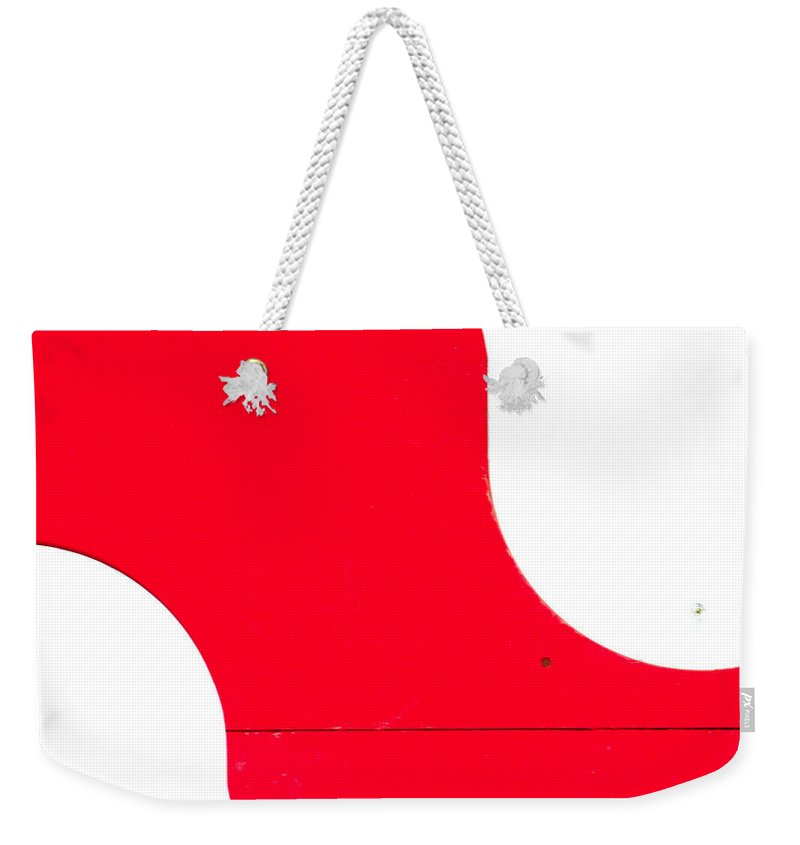 S Weekender Tote Bag featuring the photograph S by A Rey