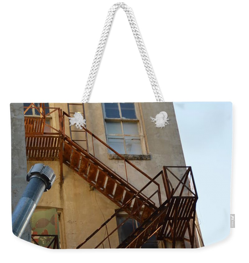 Architecture Weekender Tote Bag featuring the photograph Sa 001 by Shawn Marlow