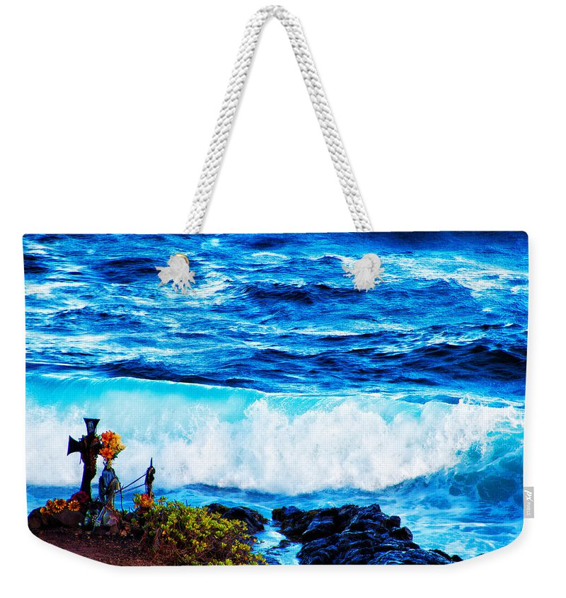 Shrine Weekender Tote Bag featuring the photograph Sacred Place by Douglas Barnard
