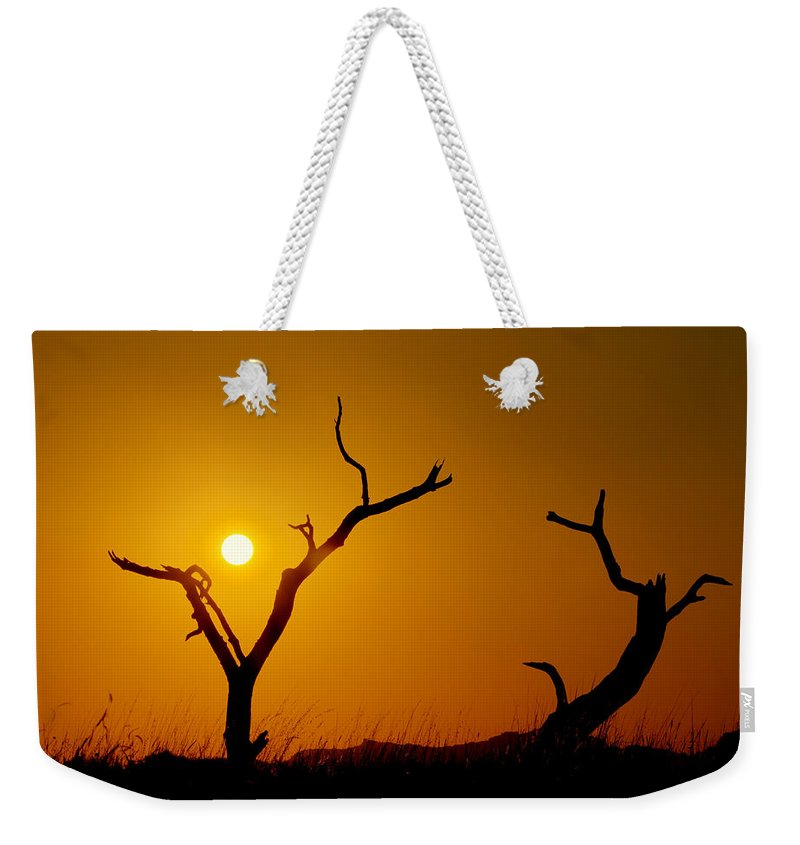 Sacrifice Weekender Tote Bags