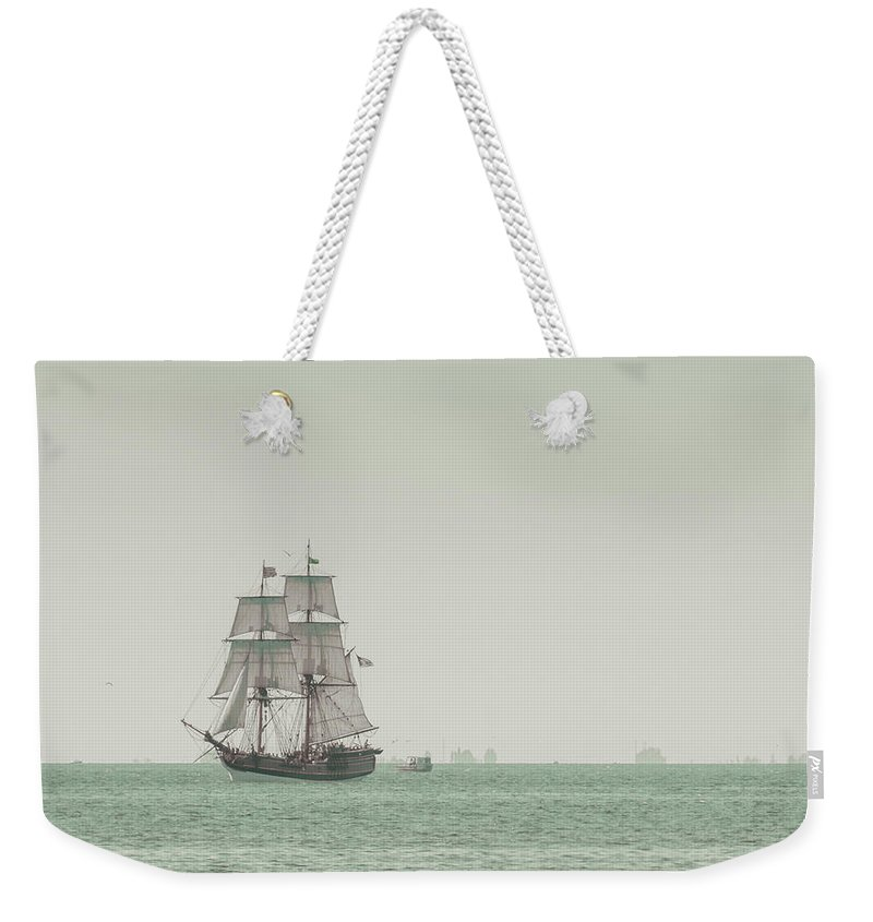 Art Weekender Tote Bag featuring the photograph Sail Ship 1 by Lucid Mood