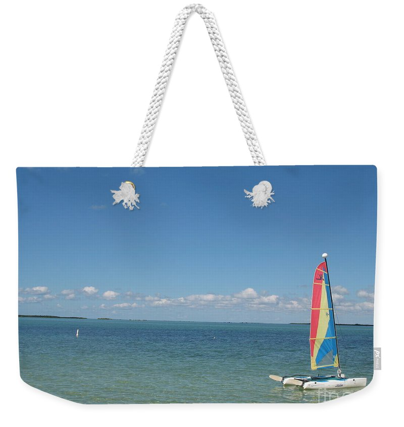 Sailing Weekender Tote Bag featuring the photograph Sailing At Key Largo by Christiane Schulze Art And Photography