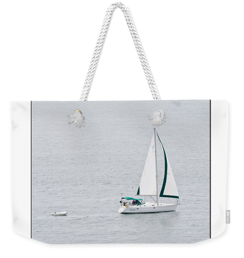 Sailing Weekender Tote Bag featuring the photograph Sailing Poster by Marie Jamieson