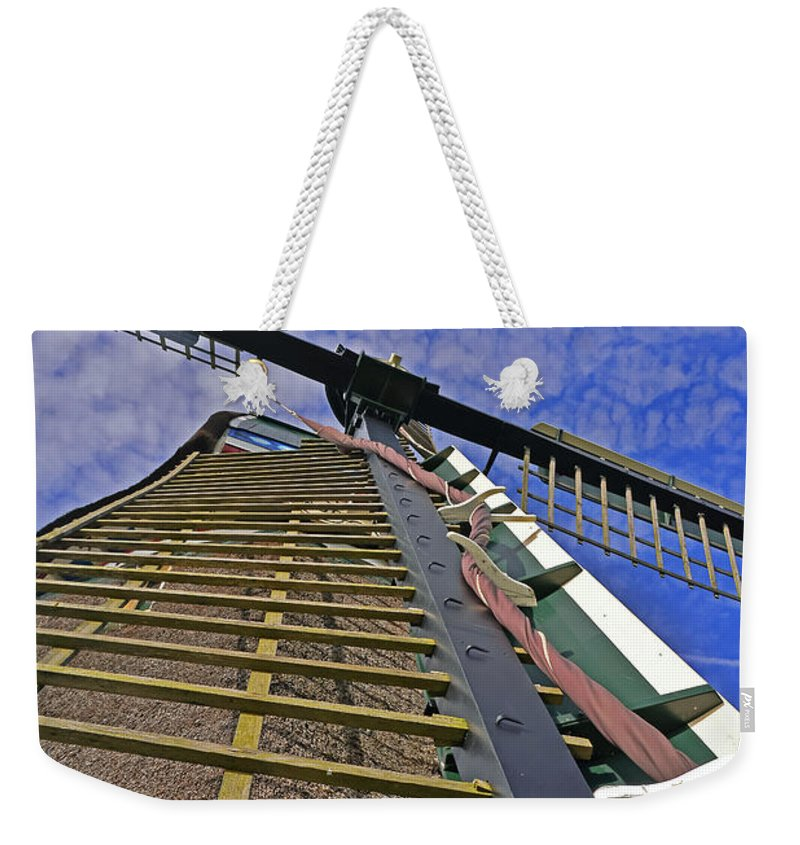 Travel Weekender Tote Bag featuring the photograph Sails Of A Windmill by Elvis Vaughn