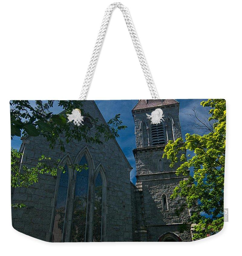 saint James Episcopal Church Weekender Tote Bag featuring the photograph Saint James Episcopal Church by Paul Mangold