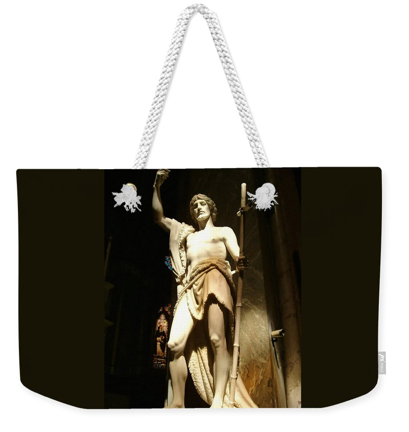 Saint John The Baptist Weekender Tote Bag featuring the photograph Saint John The Baptist by Ellen Henneke