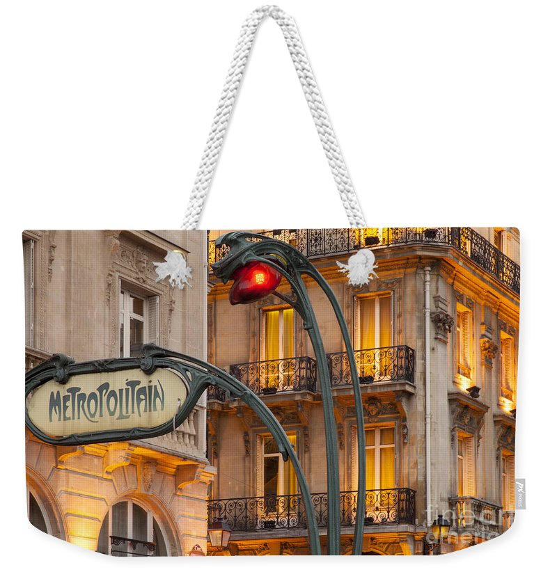 5th Weekender Tote Bag featuring the photograph Saint Michel by Brian Jannsen