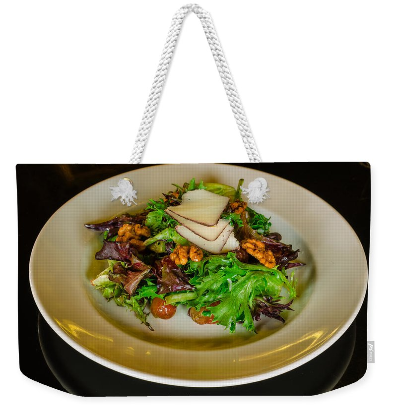Salad Weekender Tote Bag featuring the photograph Salad by Nikolai Martusheff