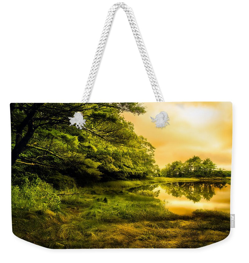Bob Orsillo Weekender Tote Bag featuring the photograph Salt Marsh Kittery Maine by Bob Orsillo