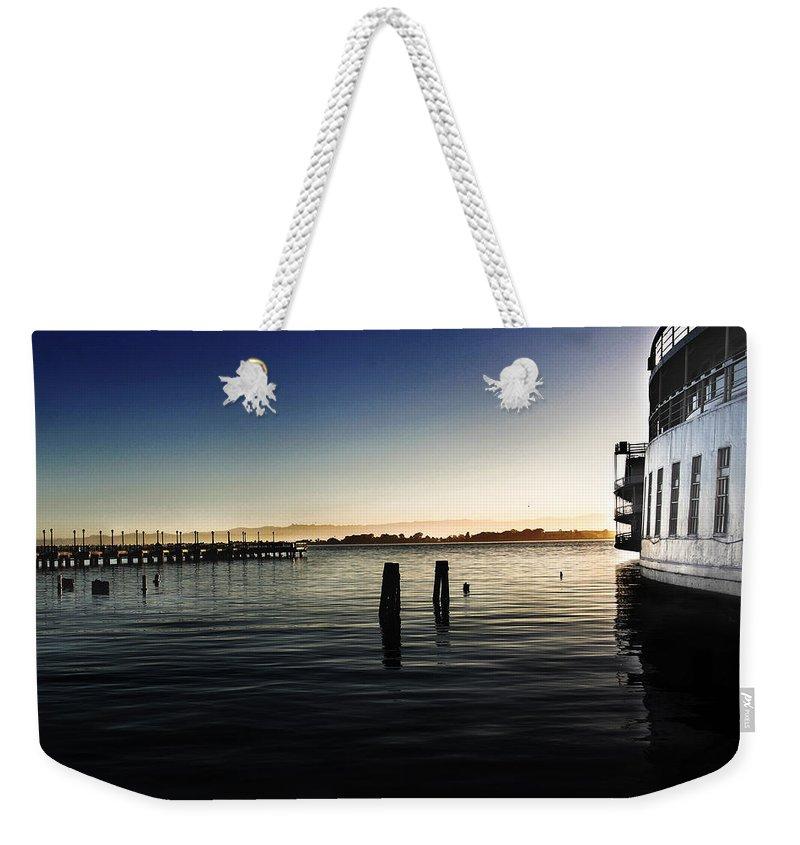 San Francisco Weekender Tote Bag featuring the photograph San Francisco Bay by Shawn McMillan
