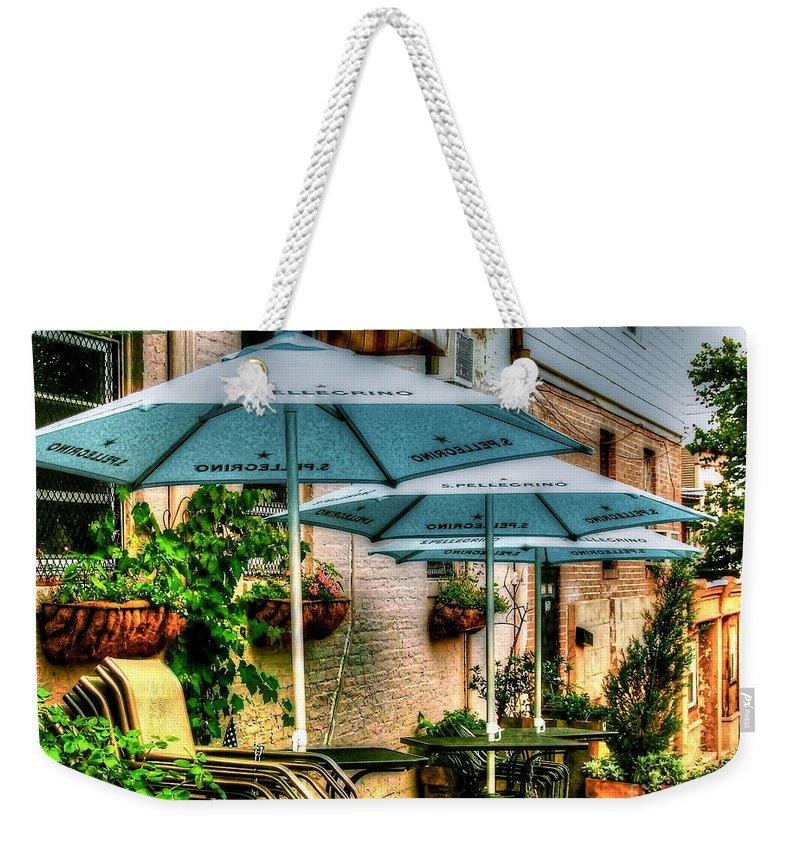 Pellegrino Weekender Tote Bag featuring the photograph San Pellegrino by Debbi Granruth