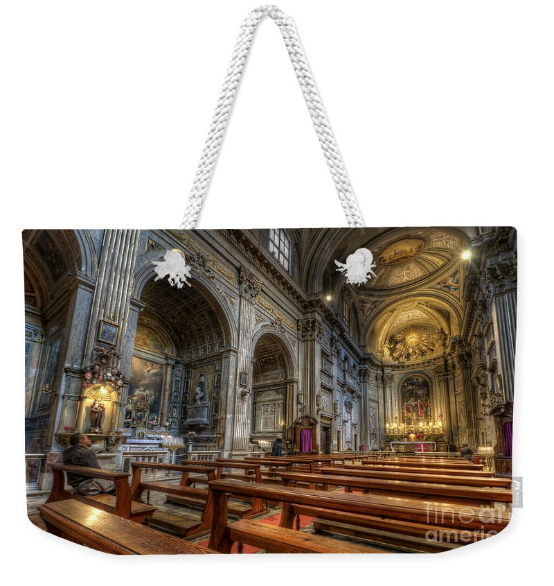 San Vincenzo Trevi Weekender Tote Bag featuring the photograph San Vincenzo Trevi 2.0 by Yhun Suarez
