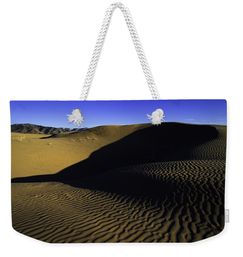 Utah Weekender Tote Bag featuring the photograph Sand Ripples by Chad Dutson