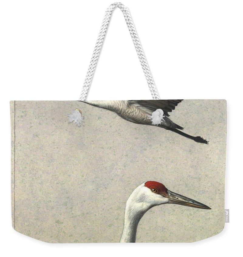 Crane Weekender Tote Bags