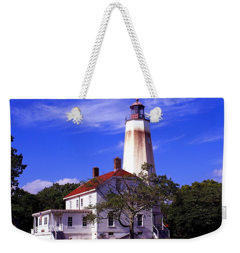 Sandy Hook Weekender Tote Bag featuring the photograph Sandy's Mark by Pablo Rosales