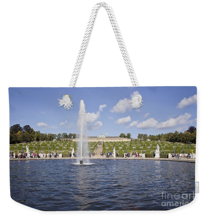 Brandenburg Weekender Tote Bag featuring the photograph Sanssouci Park Potsdam by Sv