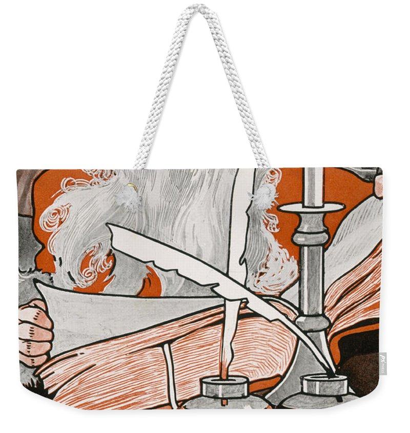 Christmas List Weekender Tote Bags