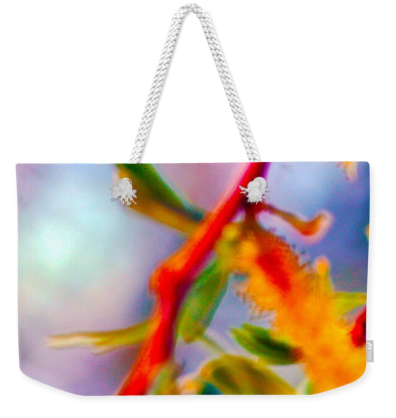 Saturated Weekender Tote Bag featuring the photograph Saturated by Brent Dolliver