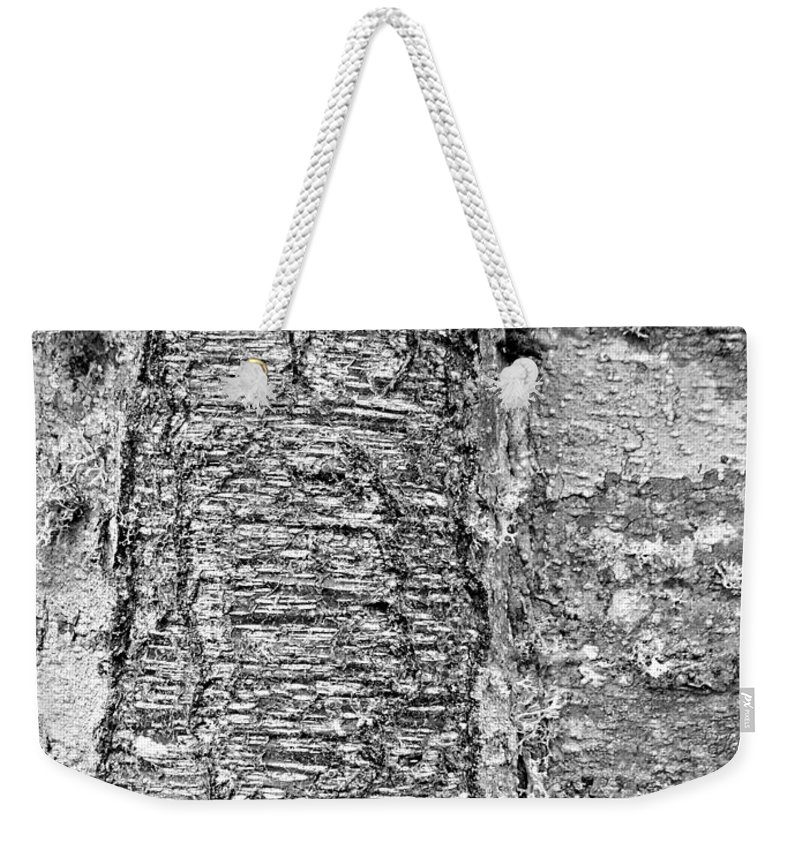 Cicatrix Weekender Tote Bag featuring the photograph Cicatrix by Chalet Roome-Rigdon