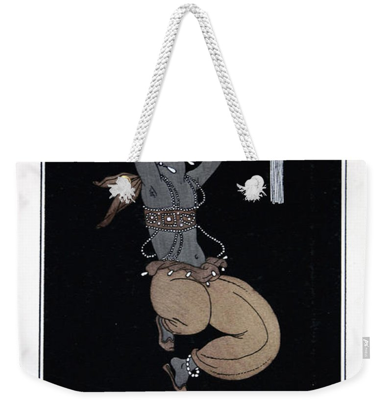 Ballet Weekender Tote Bag featuring the painting Scheherazade by Georges Barbier