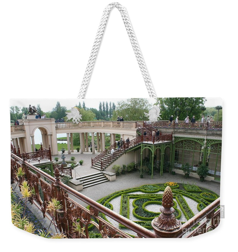 Schwerin Weekender Tote Bag featuring the photograph Schwerin The Orangery by Christiane Schulze Art And Photography