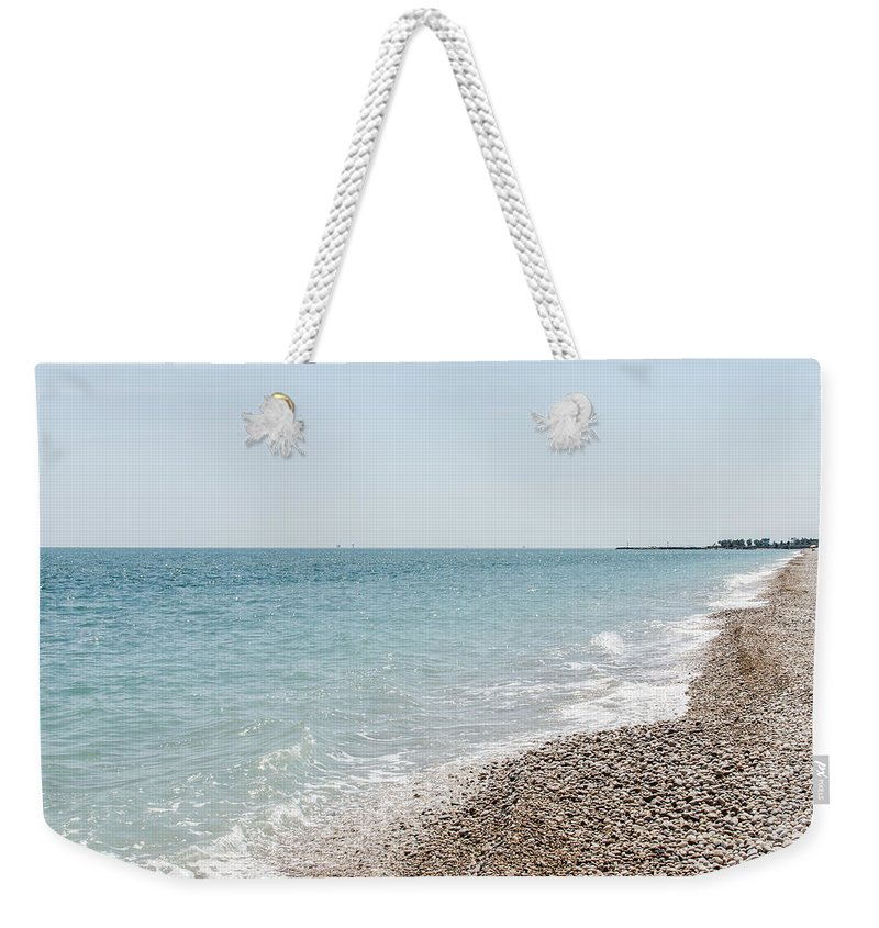 Landscape Weekender Tote Bag featuring the photograph Sea Of Italy by Andrea Mazzocchetti