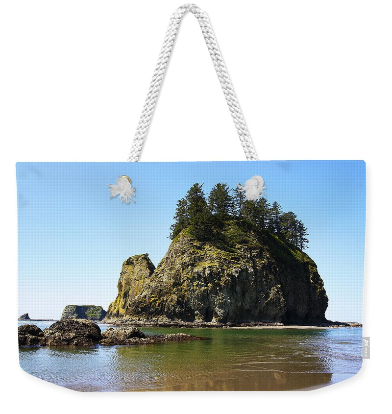 Seascape Weekender Tote Bag featuring the photograph Seascape 2 by Ingrid Smith-Johnsen