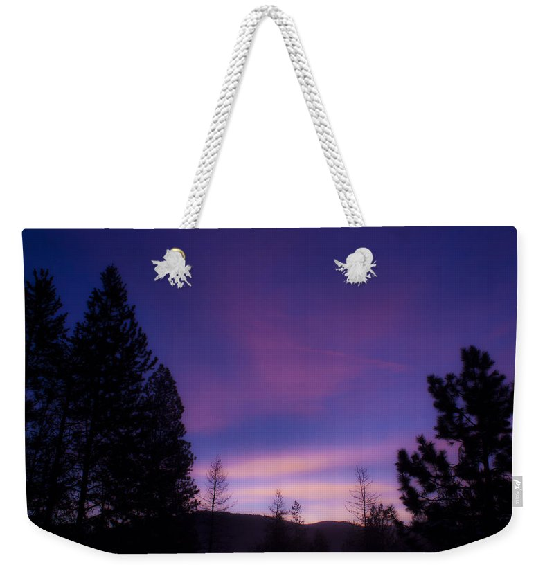 Qotes Weekender Tote Bag featuring the photograph Seeing A Thought 2 by Janie Johnson