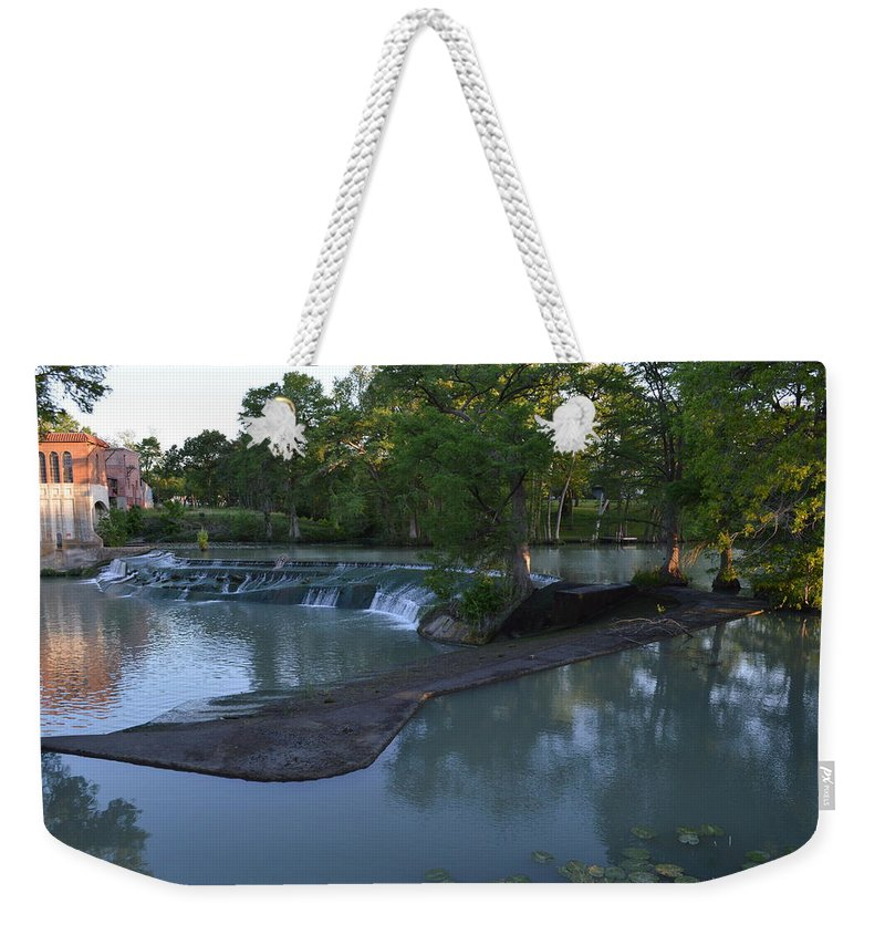 Architectur Weekender Tote Bag featuring the photograph Seguin Tx 01 by Shawn Marlow