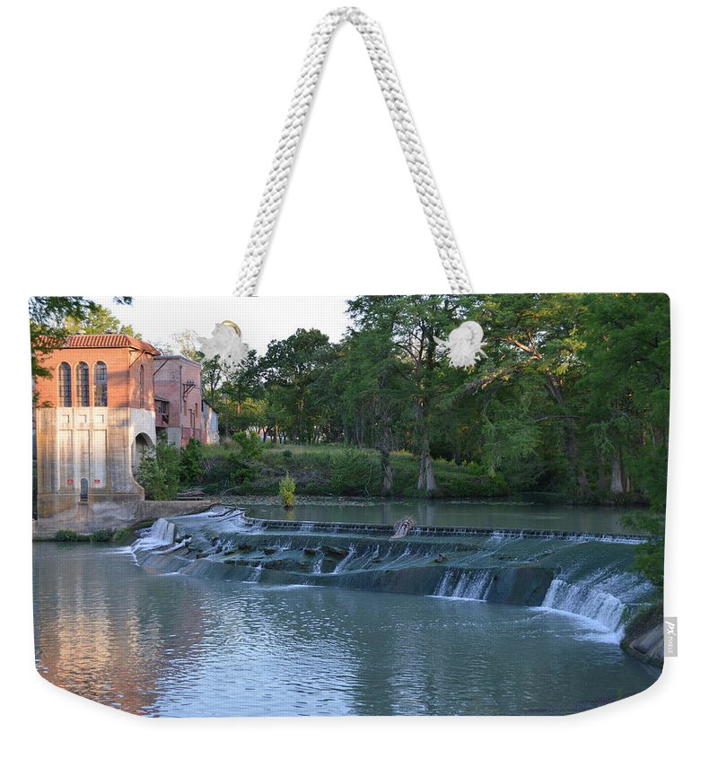 Architectur Weekender Tote Bag featuring the photograph Seguin Tx 02 by Shawn Marlow