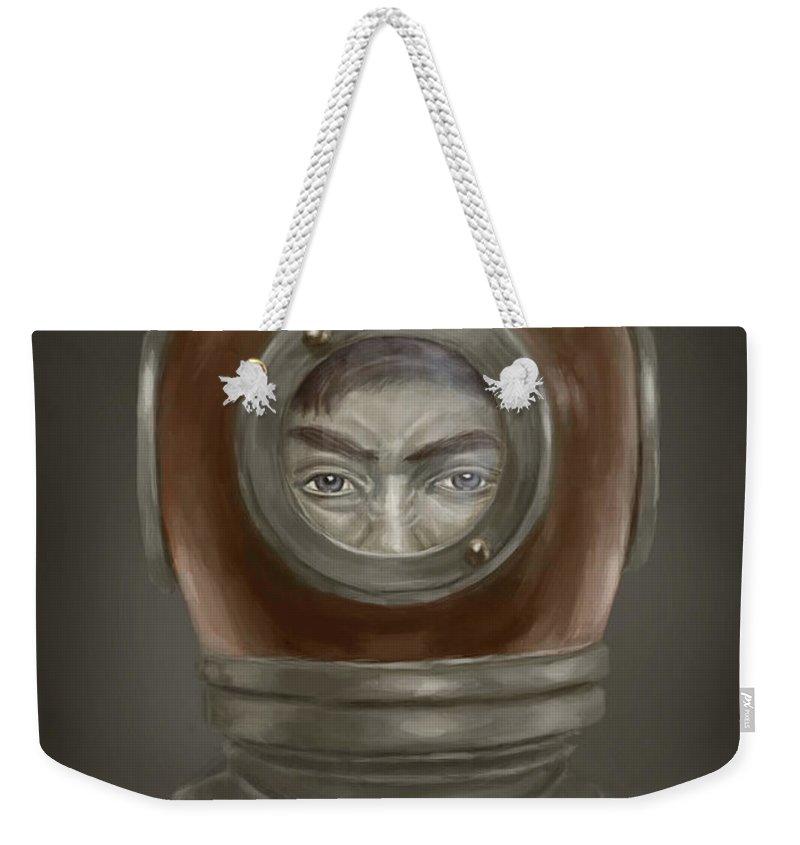 Portrait Weekender Tote Bags